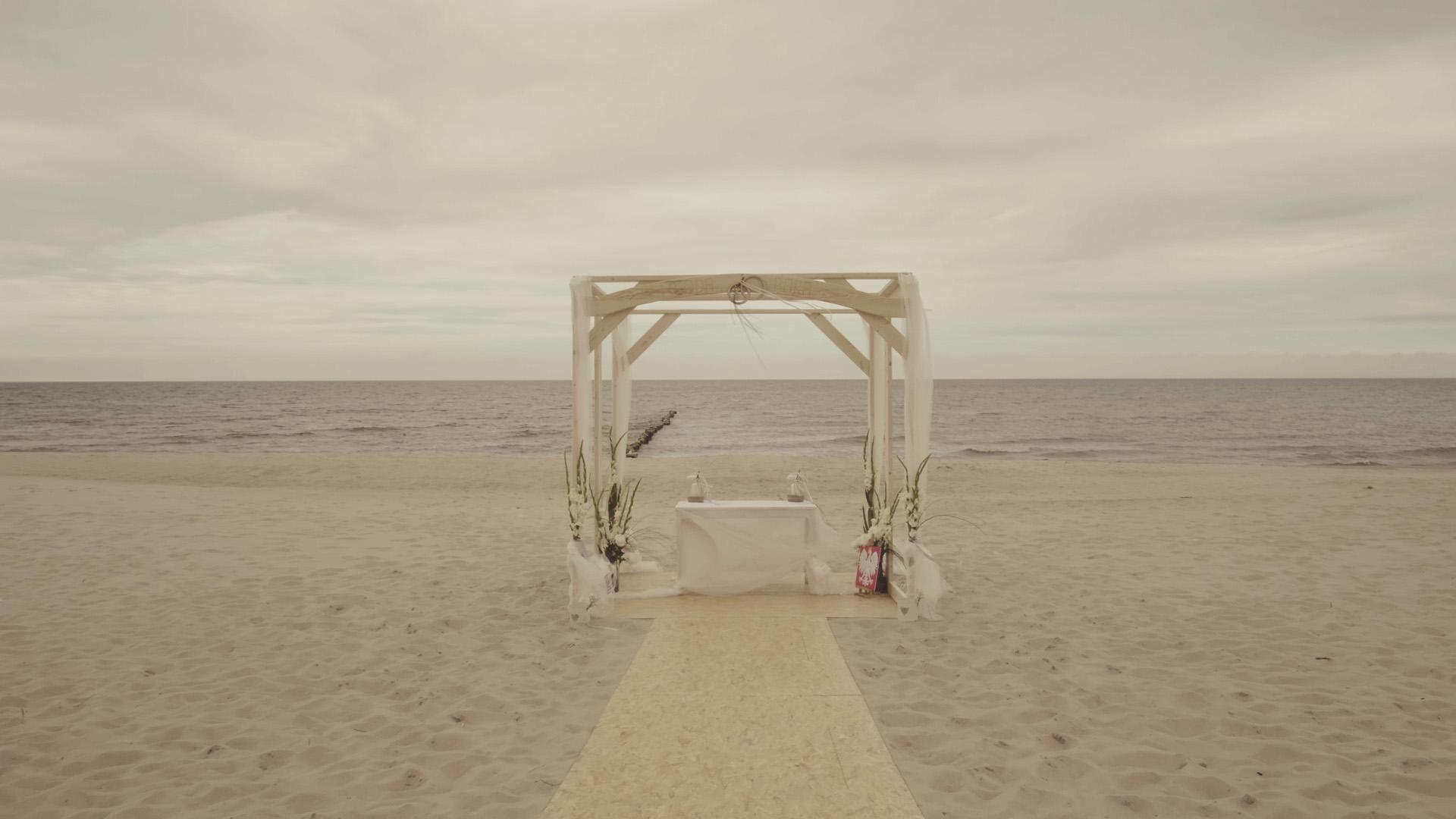 15 ołtarz ślub na plaży