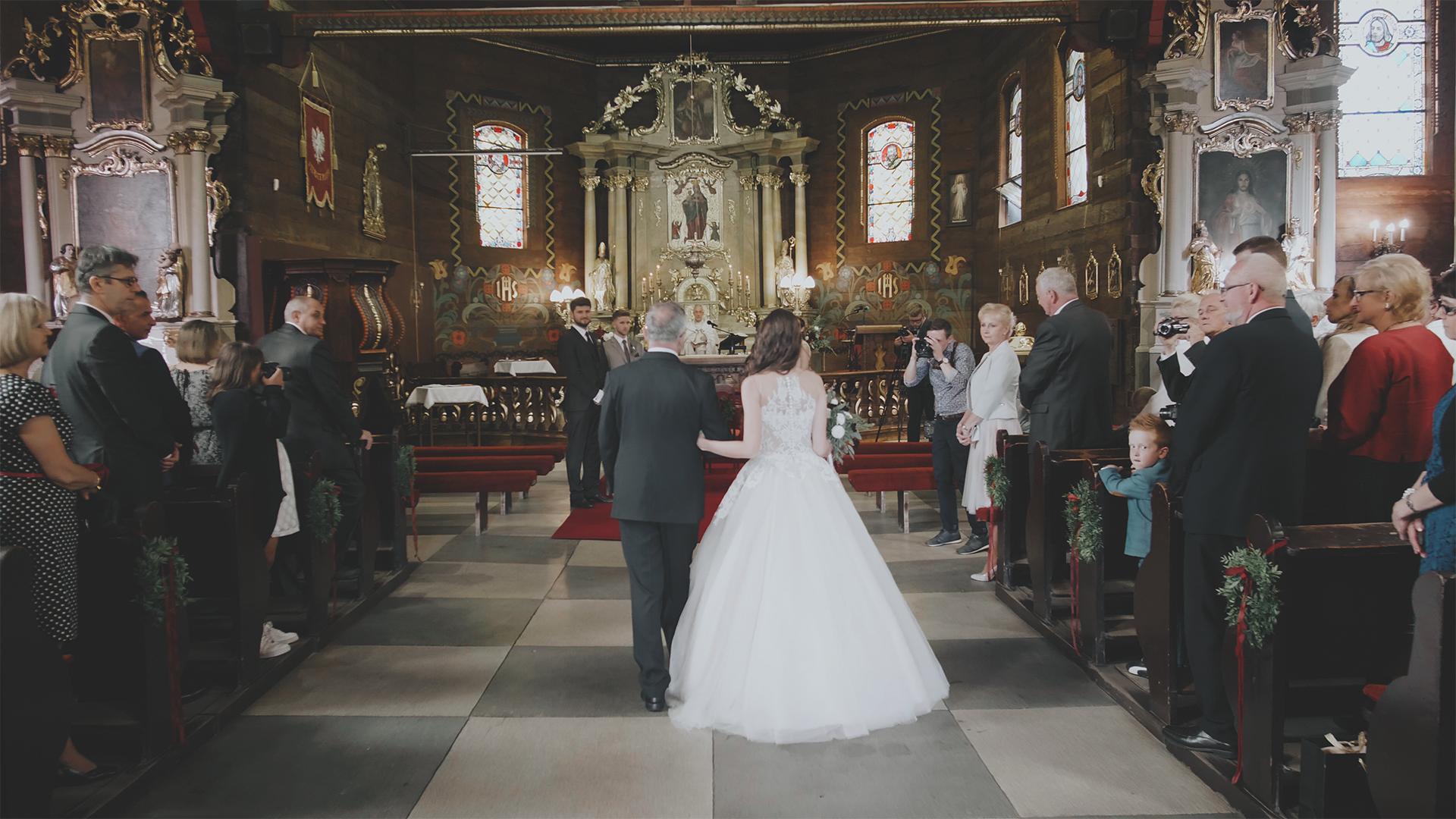 ślub kościelny folwark wąsowo