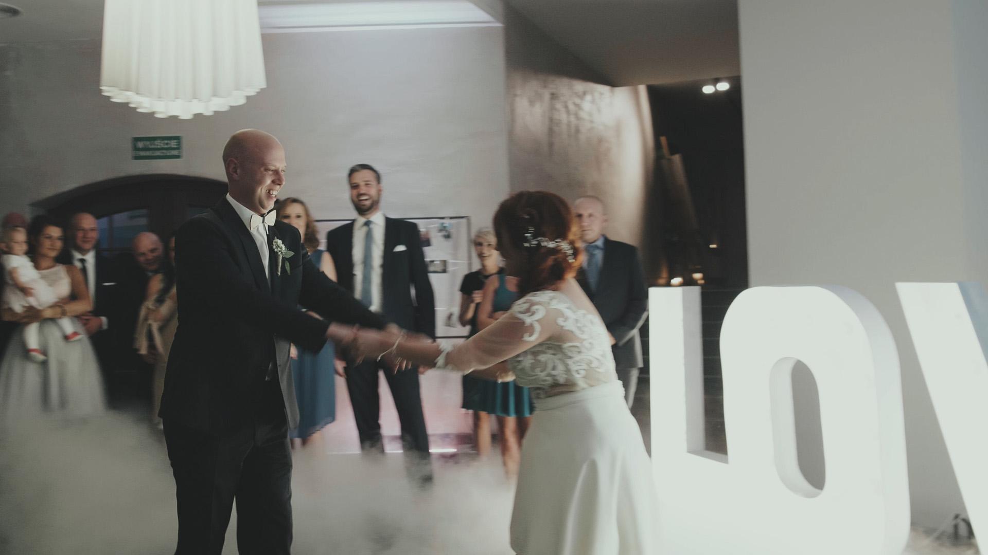 27 hotelarnia wesele teledysk ślubny