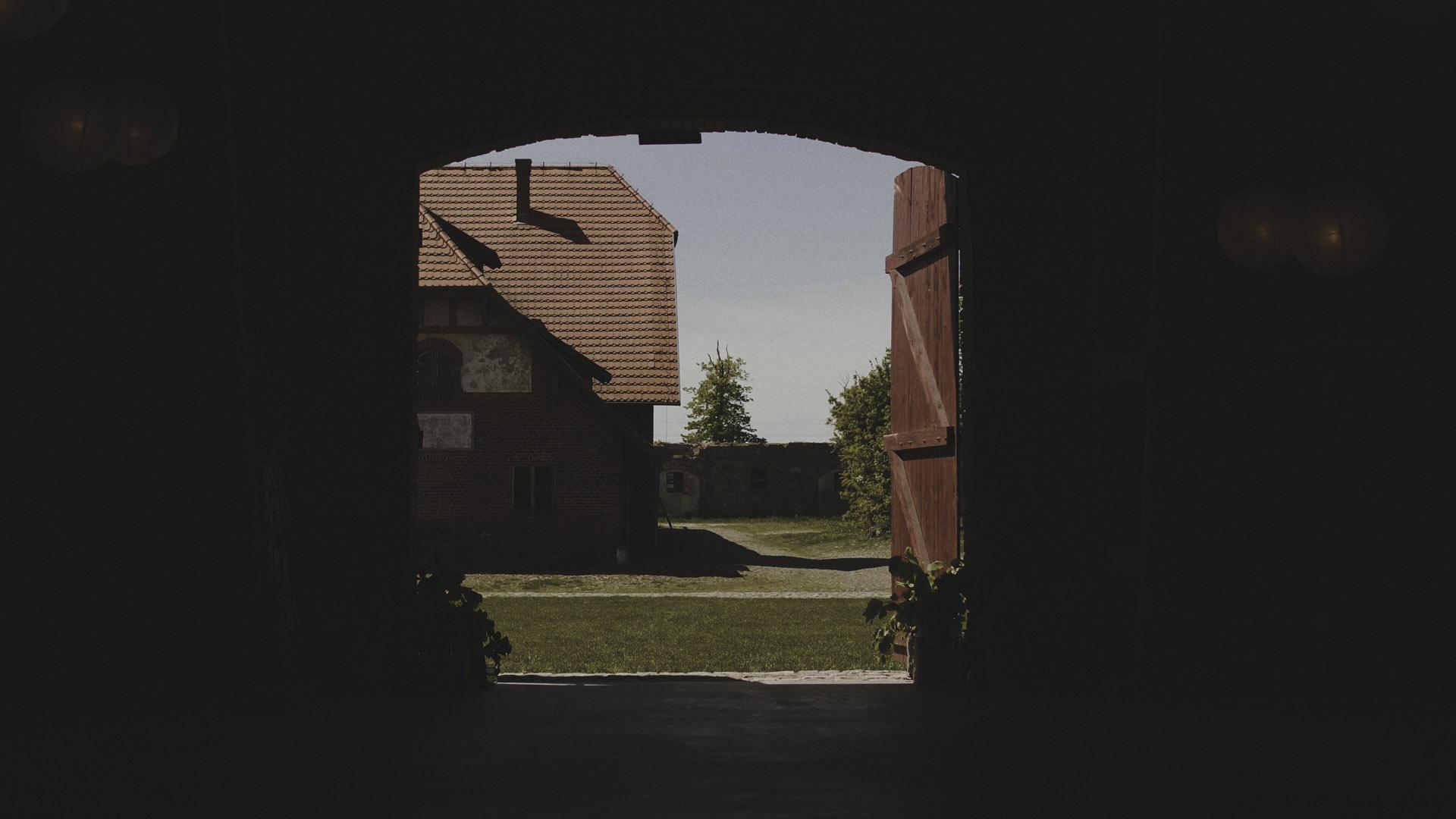 6 Folwark Wąsowo wesele w stodole