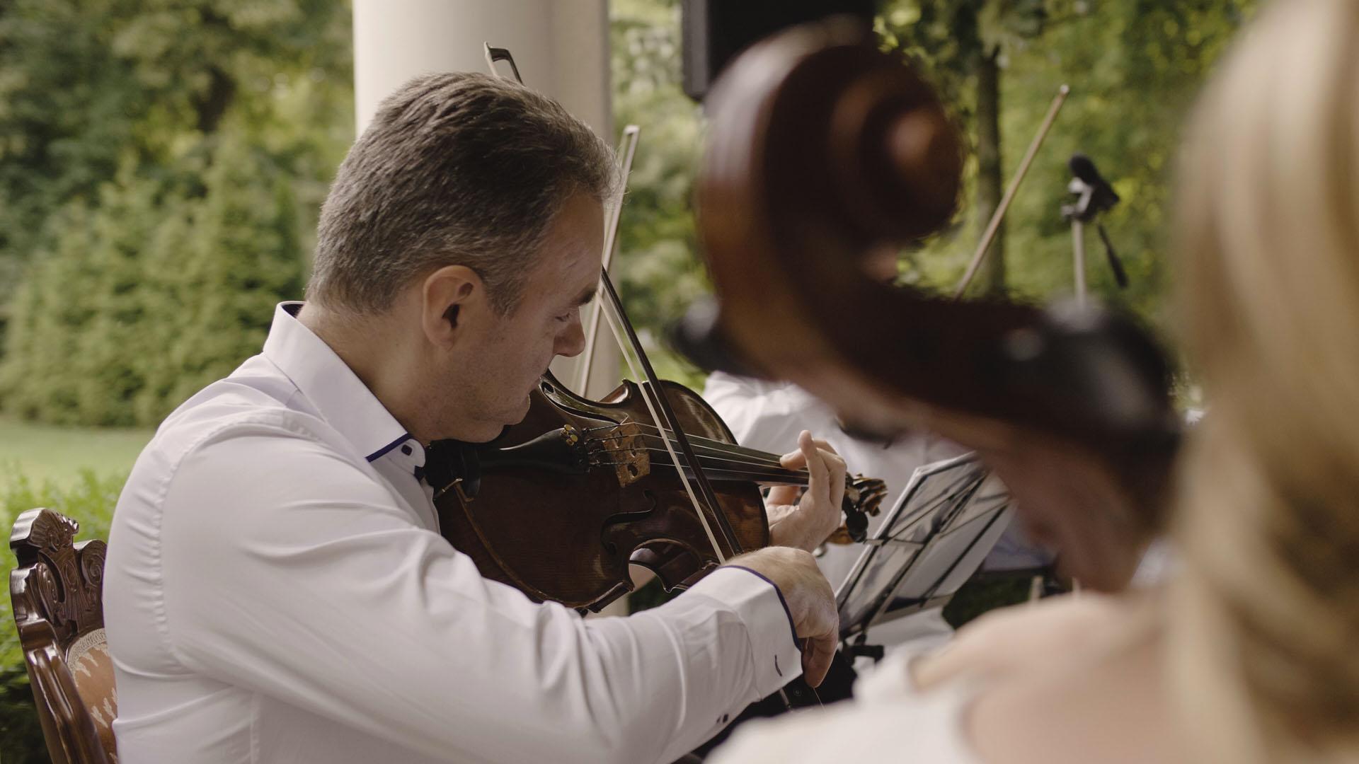 39 skrzypce na ślubie