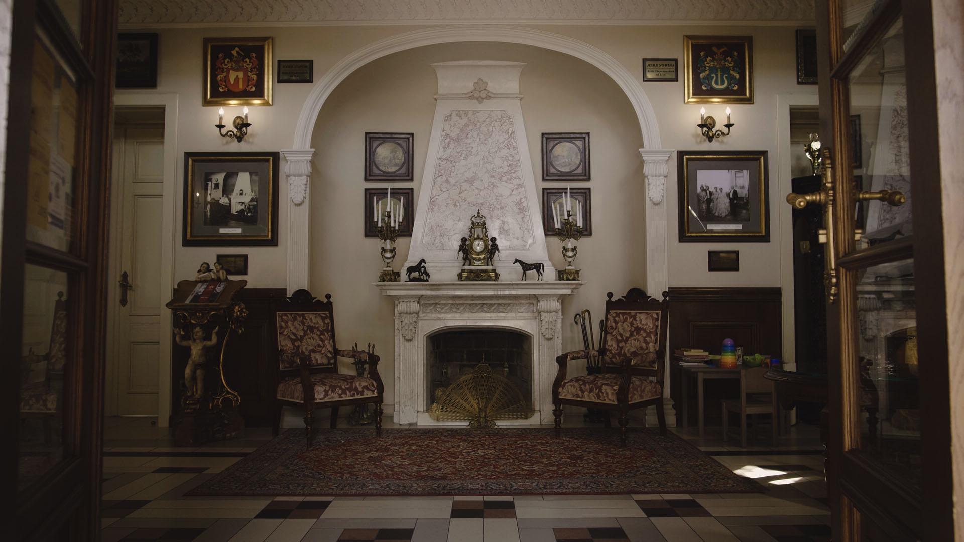 7 pałac tłokinia wesele wnętrze