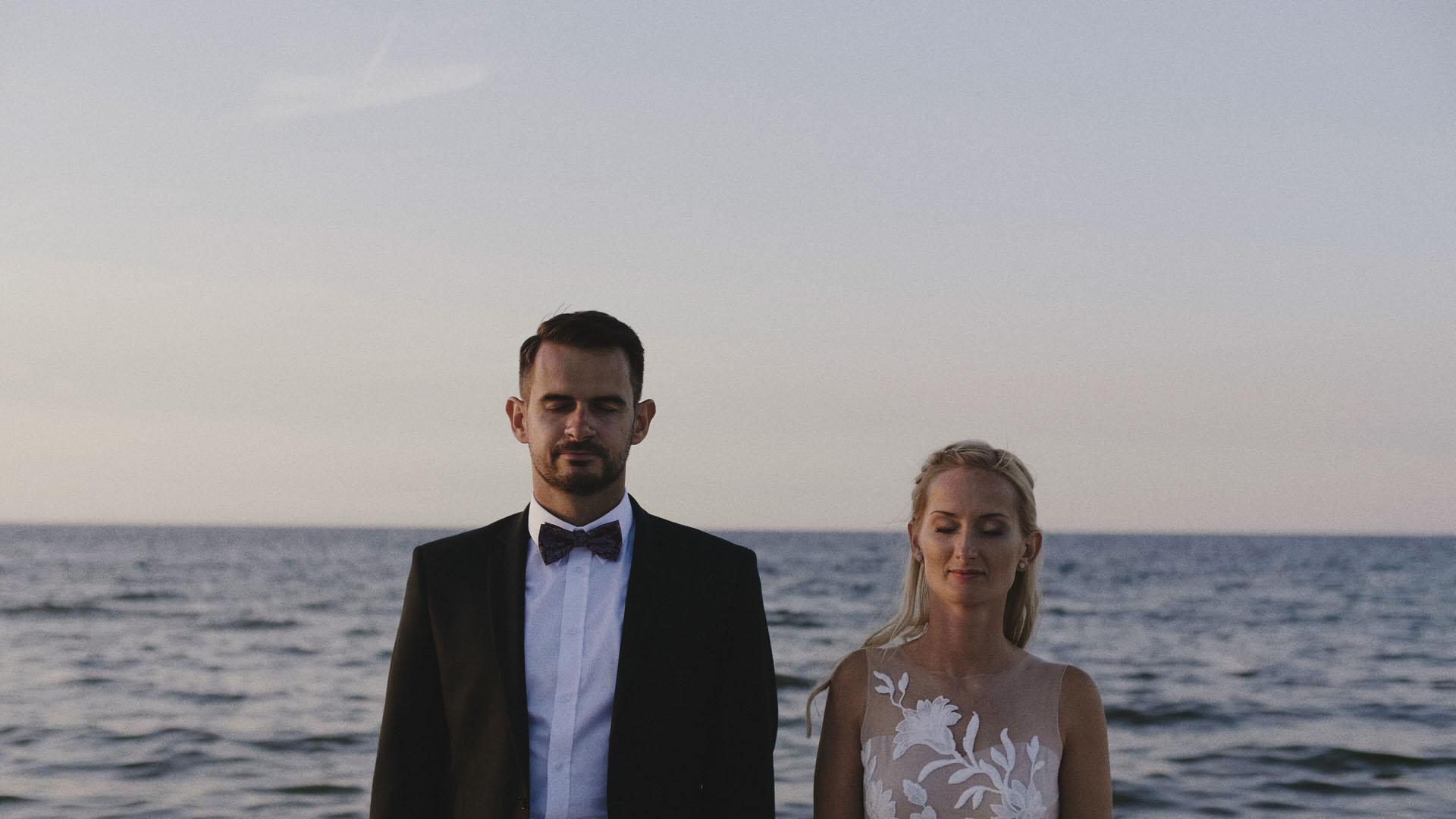 1 sesja nad morzem film ślubny sesja ślubna