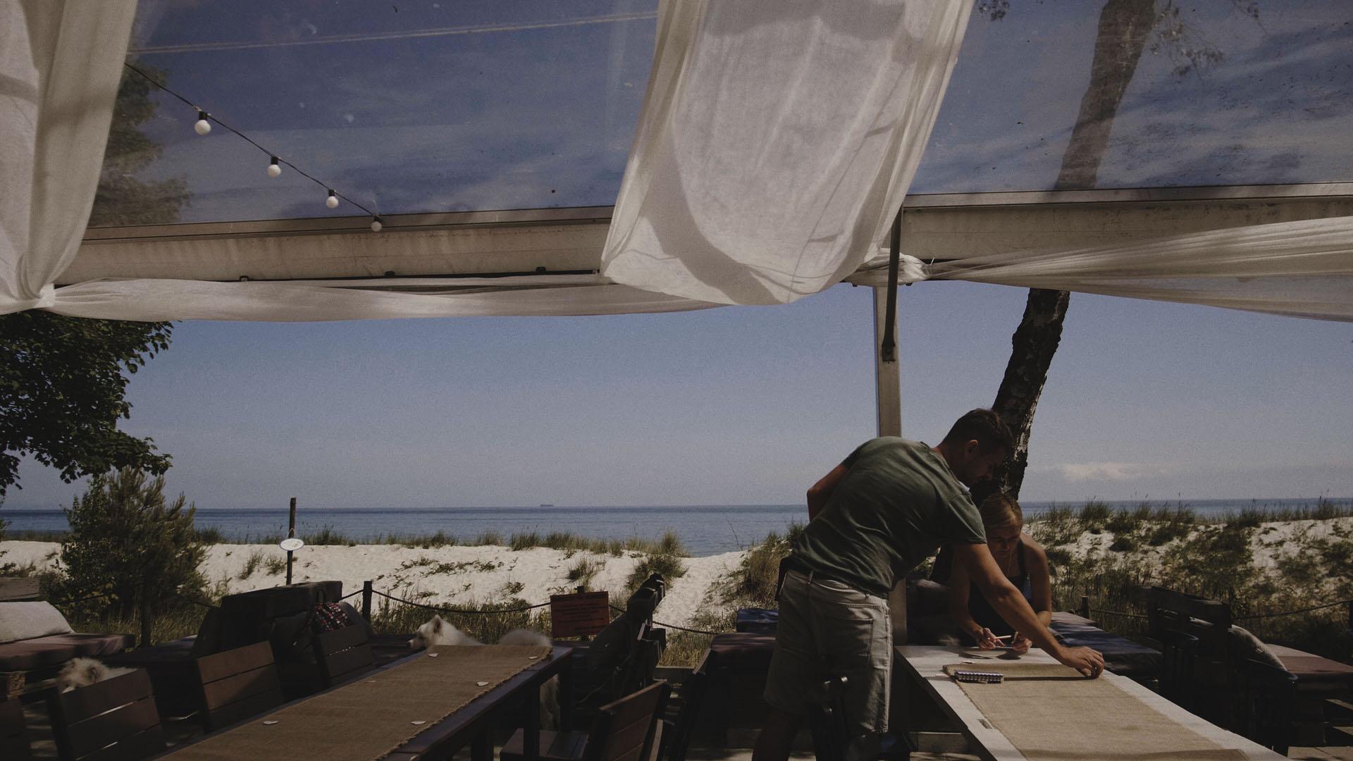16 rettungs budy ślub nad morzem