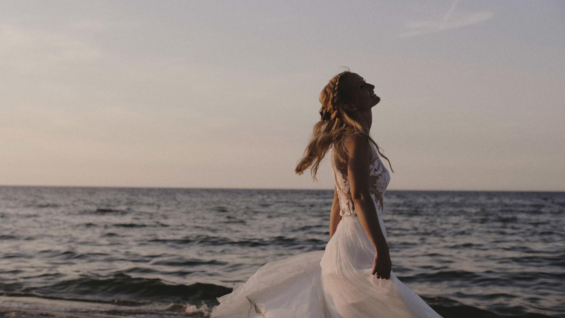 22 wesele nad morzem sesja ślubna