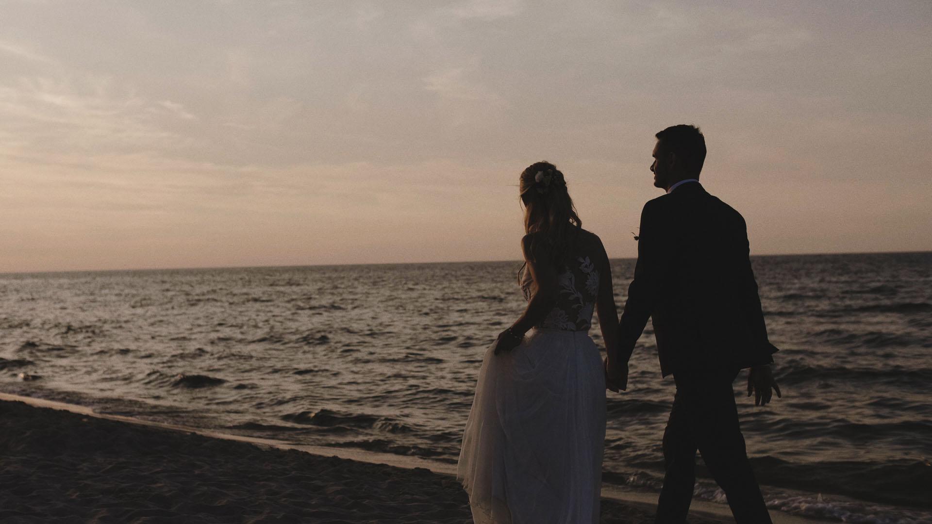 24 sesja plenerowa ślubna nad morzem filmowiec na wesele kamerzysta