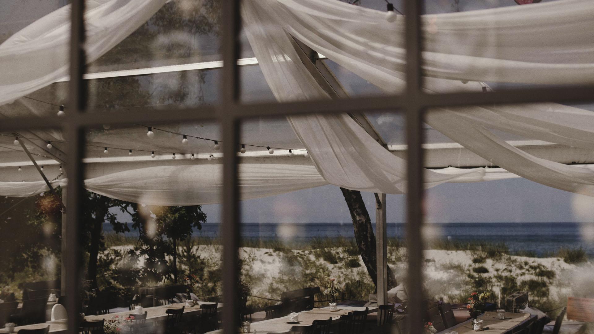 27 ślub nad morzem kamerzysta na wesele