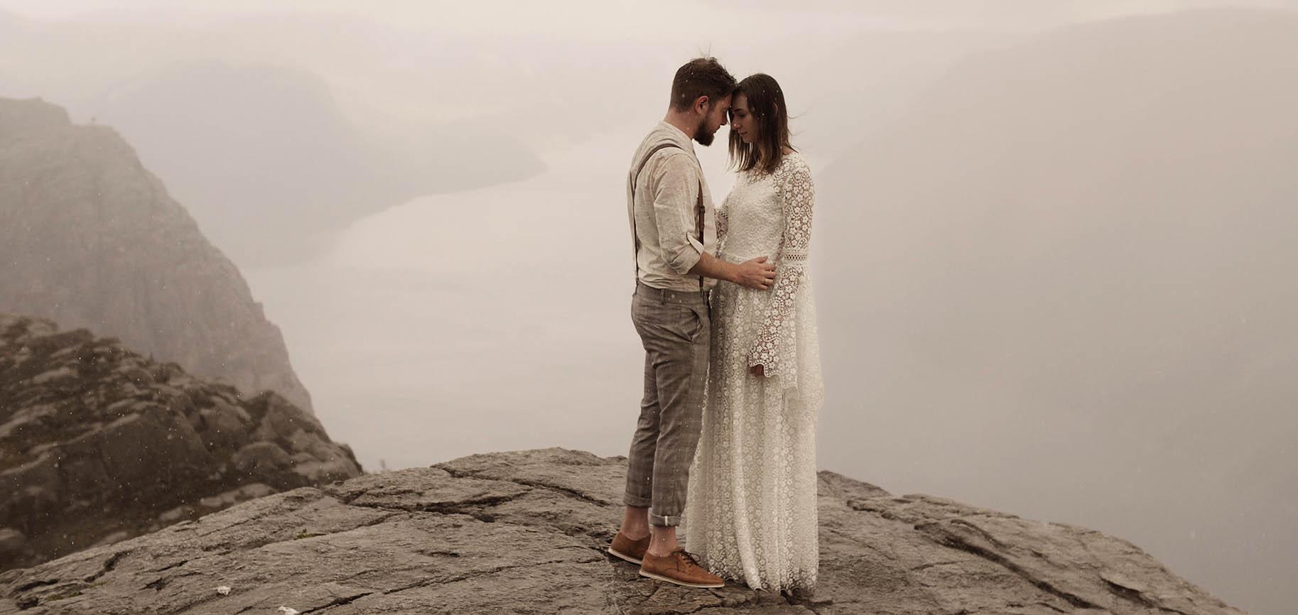 ceglarnia jarosławki ślub plenerowy wesele ananasowe wesele - stavanger preikestolen norwegia sesja film ślubny