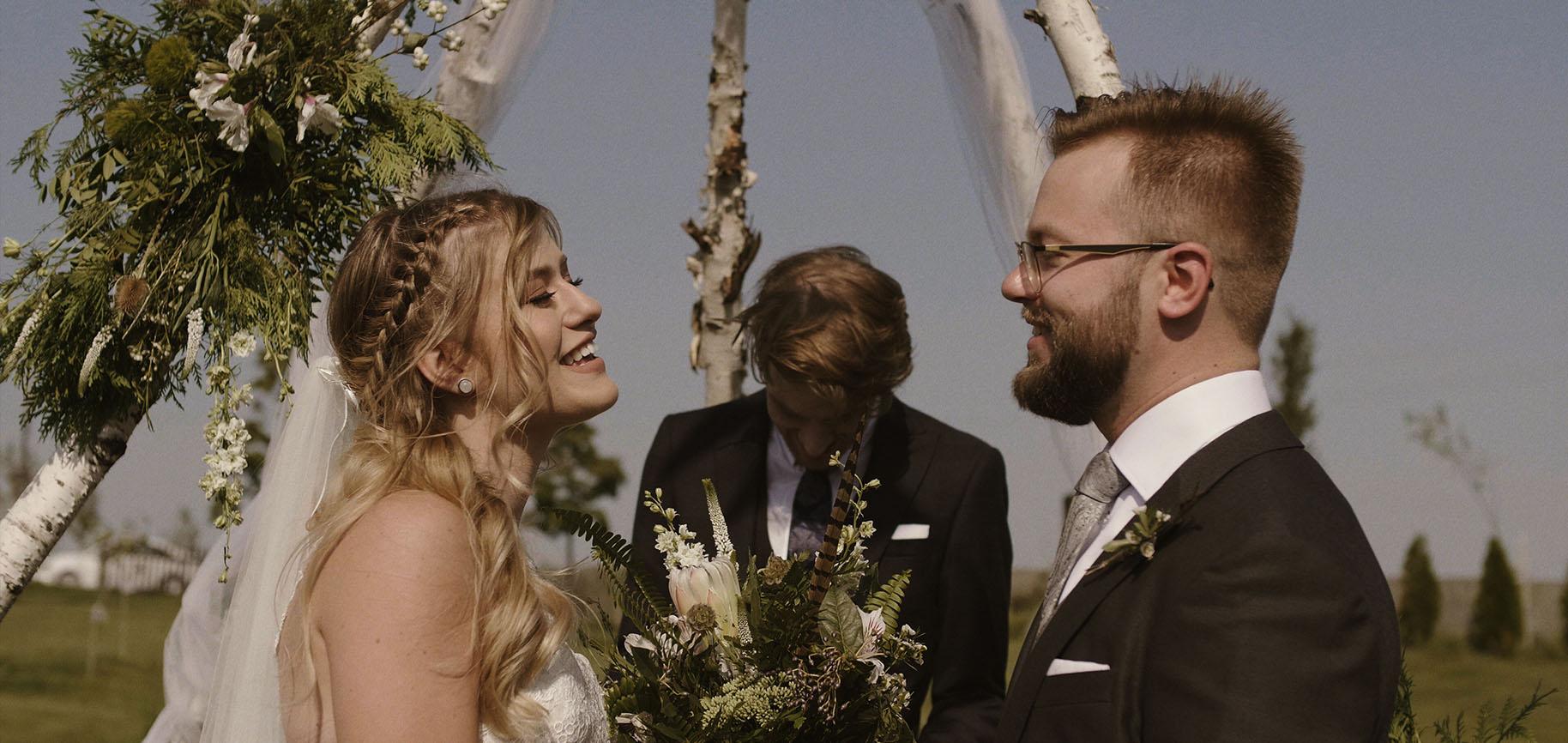 folwark ruchenka ślub w plenerze barn house wesele film ślubny