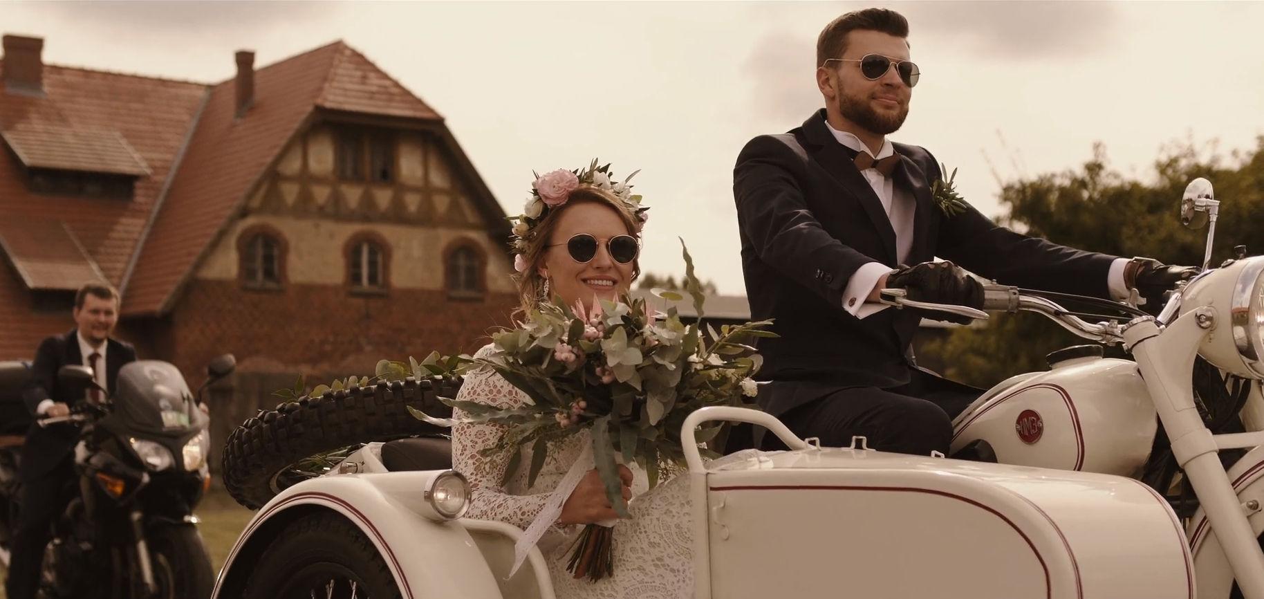 folwark wąsowo ślub wesele motor stodoła