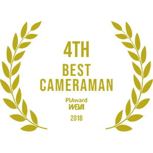 4th best cameraman. 4 najlepszy operator kamery film ślubny