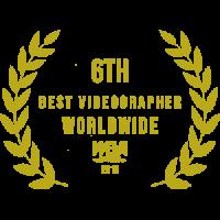 6th best wedding videographer best najlepszy filmowiec ślubny kamerzysta
