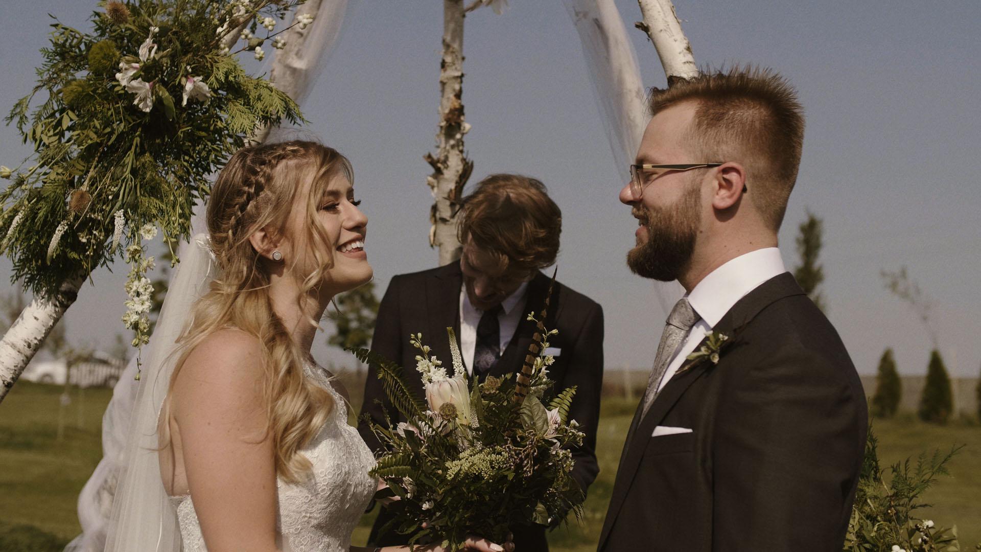 1 folwark ruchenka stodoła wesele ślub humanistyczny. film ślubny