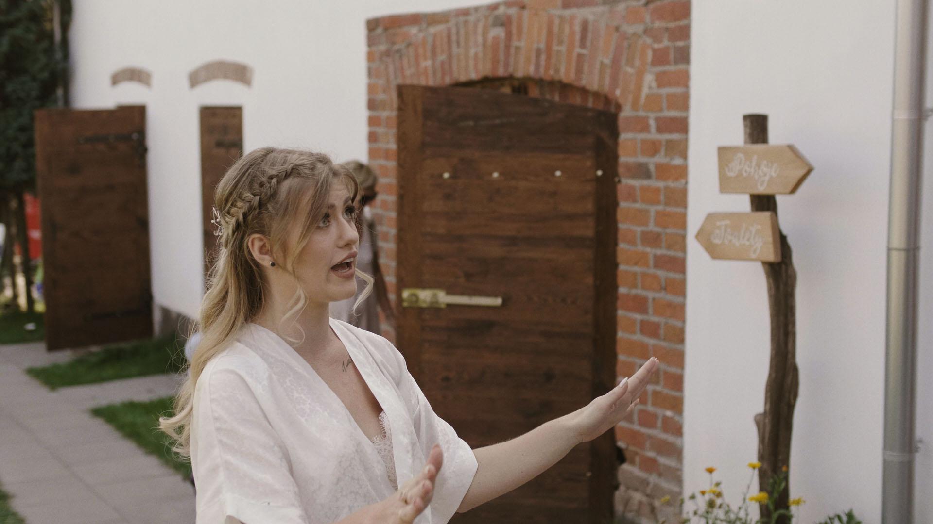 15 folwark ruchenka stodoła wesele ślub humanistyczny. film ślubny