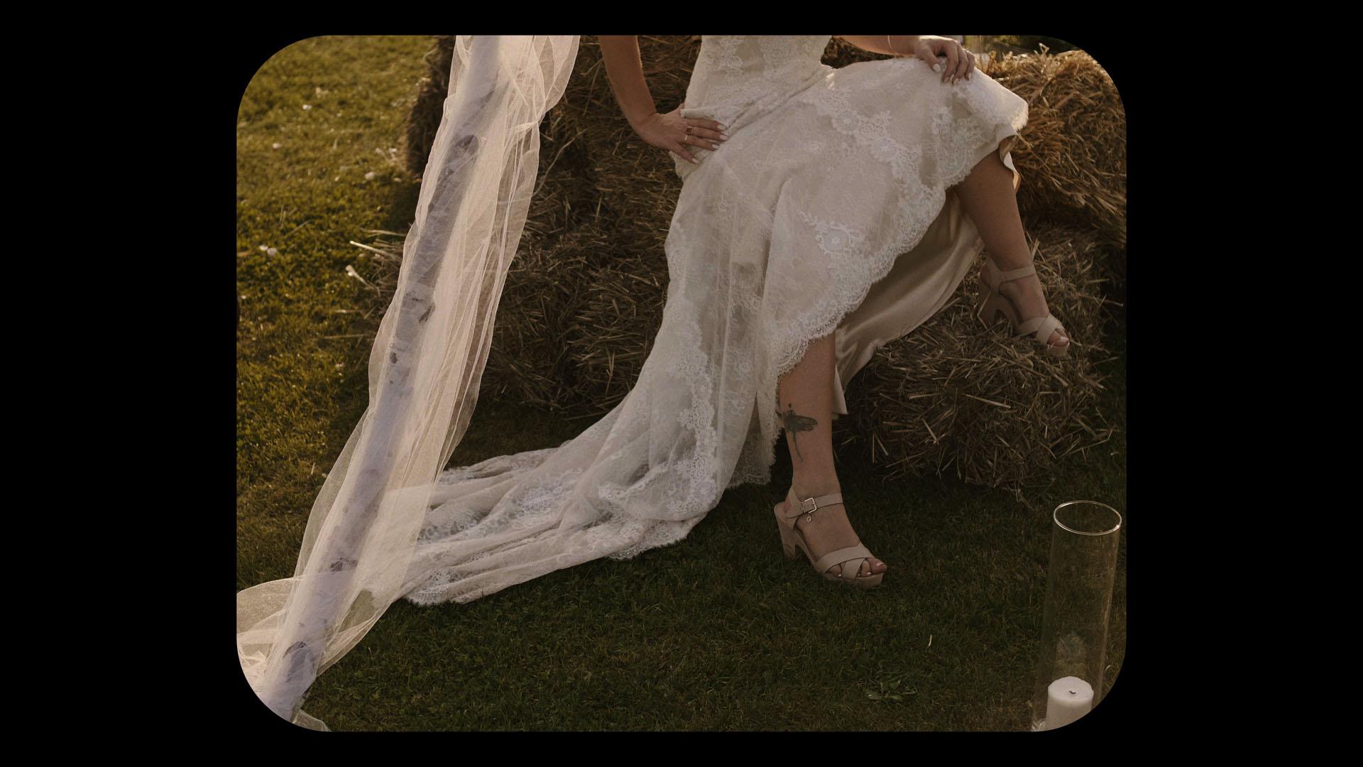 7 folwark ruchenka stodoła wesele ślub humanistyczny. film ślubny