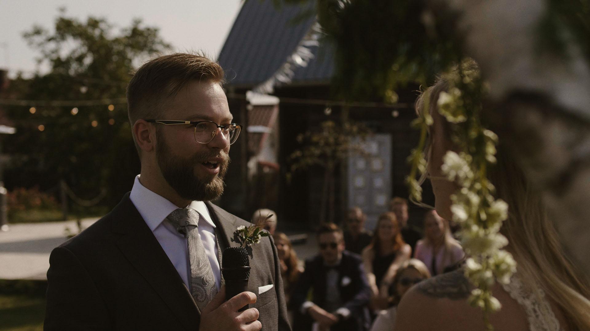 72 folwark ruchenka stodoła wesele ślub humanistyczny. film ślubny