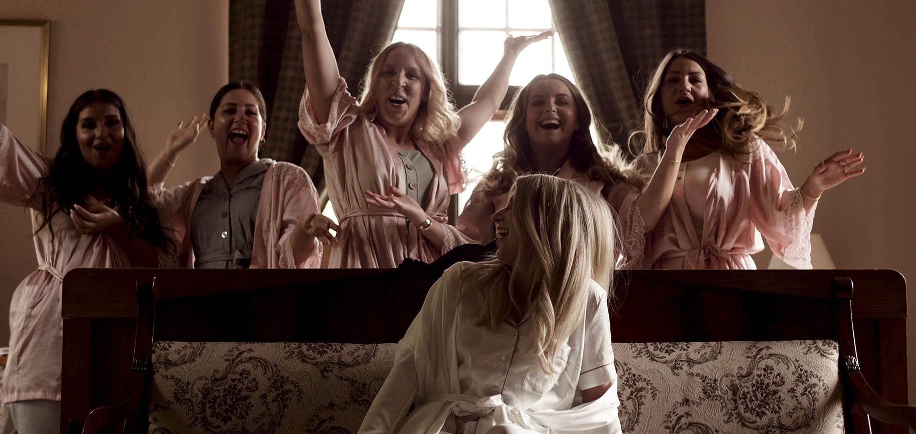 zamek joannitów łagów film ślubny glamour kamerzysta wielkopolska