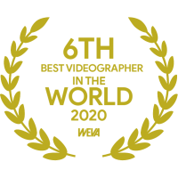 best wedding videographer filmmaker weva award destination